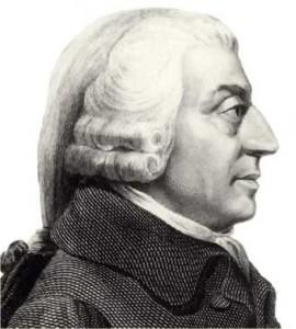 Adan  Smith, sus teorias filosoficas y sus principios deeconomia